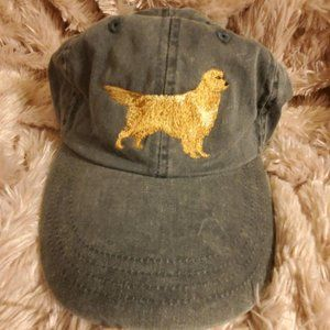 Golden Retreiver Dog Hat Dogmom Gray